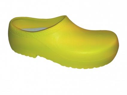 ALPRO Birkenstock PU Gartenclogs gelb Stahlkappe A640 020640 - Vorschau 1