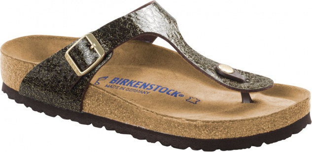 Birkenstock Zehensteg Sandale Gizeh BF SFB myda espresso- Gr. 35 - 43 - 1006590