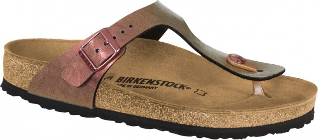 Birkenstock Zehensteg Sandale Gizeh BF graceful gemm ROT Gr. 1012404 35 - 43 - 1012404 Gr. 68b0bf