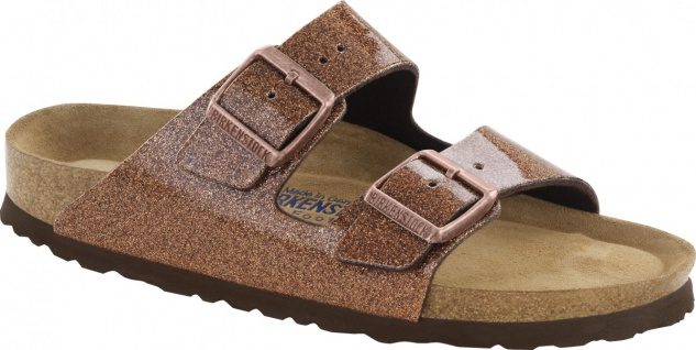 Birkenstock Pantolette Arizona BF WB magic galaxy bronce Gr. 35 - 43 - 057641 - Vorschau