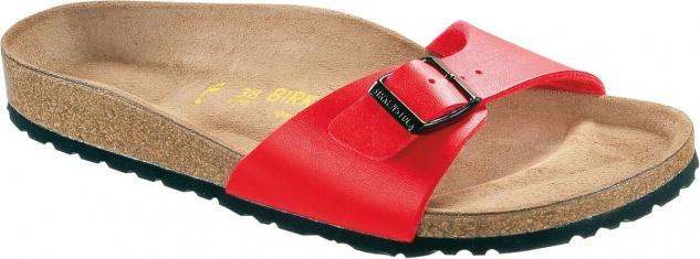 BIRKENSTOCK Gymnastik Sandale Pantolette Madrid kirsch Gr. 35-43 040741 + 040743