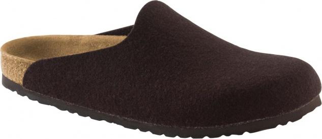 Birkenstock Clog Amsterdam brown Wolle 1001492 / 1001491