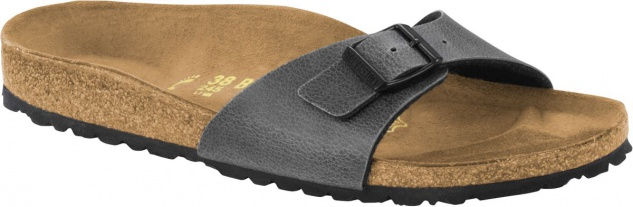 BIRKENSTOCK Madrid pull up anthracite 1000341