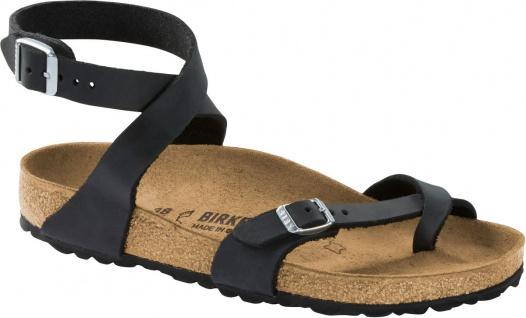 Birkenstock Zehensteg Sandale Yara black FL Gr. 35 - 43 1011442