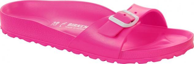 BIRKENSTOCK Pantolette Badeschuh Madrid neon pink EVA Gr. 36 - 41 128303