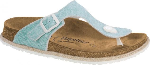 Papillio Pantolette Gizeh beach light blue 1004250
