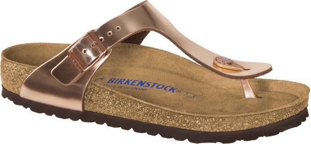 Birkenstock Zehensteg Gizeh NL metallic copper -1012227