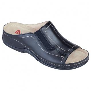 Berkemann Pantolette schwarz Kalbsleder Gr. 3 - 8, 5 01105-926