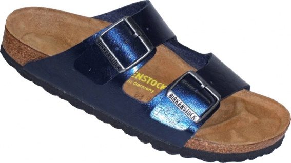 Birkenstock Pantolette Arizona WB BF Graceful Insignia Blue Gr. 35 - 43 - 752963