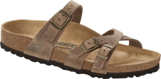 Birkenstock Pantolette Franca tabacco brown 1015931
