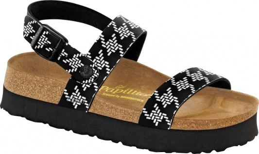Papillio Sandale Cameron knotted black 521263