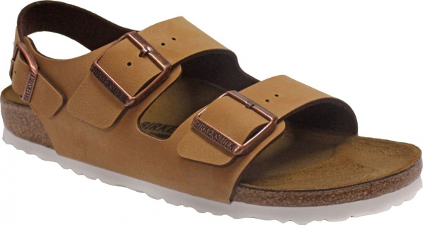 BIRKENSTOCK Sandale Milano brushed brown BF Gr. 35 - 43 1006215