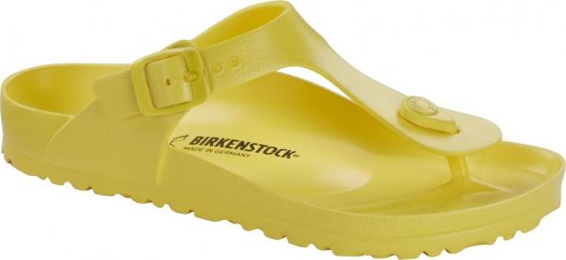 Birkenstock Pantolette Gizeh EVA vibrant yellow 1014566