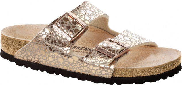 BIRKENSTOCK Pantolette Arizona metallic stones copper Gr. 35-43 1006685