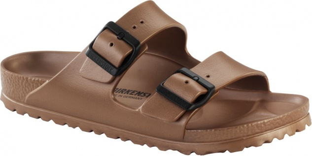 BIRKENSTOCK Badeschuh Arizona metallic copper EVA 1001500