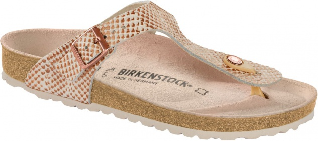 Birkenstock Zehensteg Sandale Gizeh mermaid cream 1012874/1012873