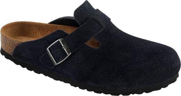 Birkenstock Clog Boston Leder blau Gr. 35 - 46 960781