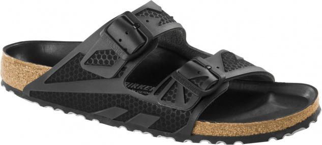 Birkenstock Pantolette Arizona rubberized black 1005737