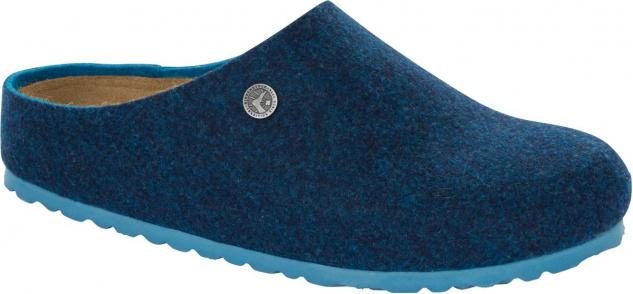 Birkenstock Clog Kaprun doubleface blue Wolle Gr. 35 - 46 1013000
