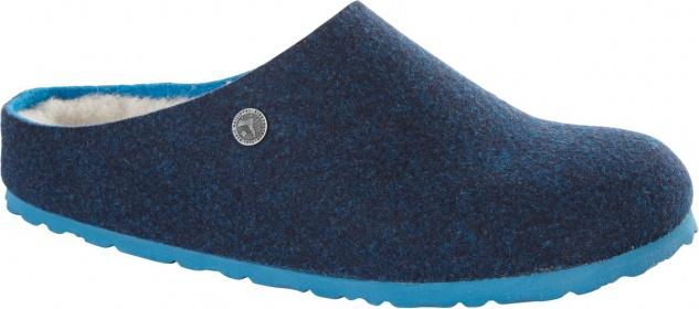 BIRKENSTOCK Clog Kaprun doubleface blue Wolle 1011794