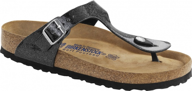 Birkenstock Zehensteg Sandale Gizeh BF WB Magic Galaxy black, Gr. 35 - 43 - 847441