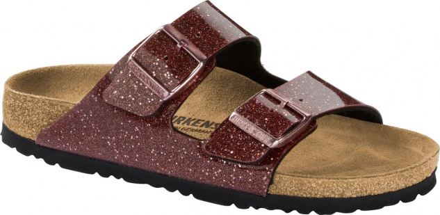 Birkenstock Pantolette Arizona cosmic sparkle port 1014383