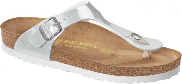Birkenstock Zehensteg Sandale Gizeh BF Gr. 35 - 43 pearly white 745271 + 745273