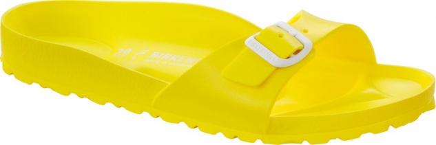Birkenstock Pantolette Badeschuh Madrid neon yellow EVA Gr. 36 - 41 128313