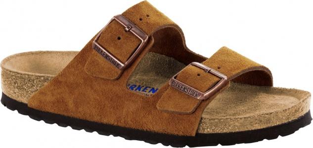 Birkenstock Pantolette Arizona Mink suede leather 1009526 Gr. 35 - 46