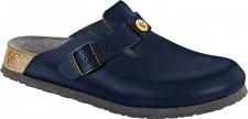 BIRKENSTOCK Professional Clog Boston ESD blau Leder Gr. 36 - 48 061380 + 061388