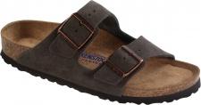 Birkenstock Pantolette Arizona Leder Mocca Gr. 35 - 43 - 951311