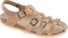 BIRKENSTOCK Sandale Almelo antik frappe Naturleder Gr. 35 - 43 026041 + 026043