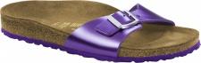 Birkenstock Pantolette Madrid metallic violet Leder Gr. 35 - 43 1004047
