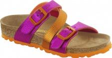 Birkenstock Pantolette Sandale Salina charme pink orange BF Gr. 26 - 34 025443K