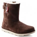 Birkenstock Boot Stiefel Westford Veloursleder, espressso Gr. 36 - 42 - 1007051
