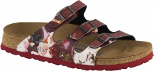Papillio Pantolette Florida BF painted bloom red Gr. 35 - 43 - 1000609