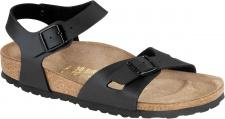 BIRKENSTOCK Sandale Fersenriemen Rio schwarz BF Gr. 35 - 43 031791 + 031793