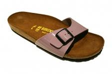 Birkenstock Pantolette Sandale Madrid BF Lack holunder Gr. 35 - 43 440593