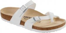 BIRKENSTOCK Zehensteg Sandale Mayari weiß Birko-Flor Gr. 35 - 46 071051 + 071053