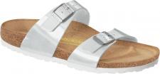BIRKENSTOCK Pantolette Sydney pearly white BF Gr. 35 - 43 488181 + 488183