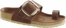 Birkenstock Zehensteg Sandale Miramar Big Buckle Thong cognac Gr. 35 - 43 1006528