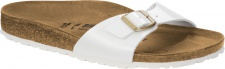 Birkenstock Pantolette Madrid BF Lack patent white Gr. 35 - 43 1005310