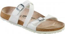 BIRKENSTOCK Pantolette Sandale Salina weiß BF Gr. 35 - 43 023131 + 023133