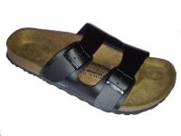 Newalk Pantolette Fulda ähnlich Arizona schwarz Original Birkenstock Fußbett - 1651S