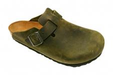 Birkenstock Clog Boston Leder smaragdgrün Gr. 35 - 46 660721