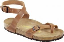 BIRKENSTOCK Zehensteg Sandale Yara antik braun Gr. 35 - 43 013381 + 013383