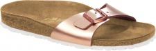Birkenstock Pantolette Madrid metallic copper Naturleder Gr. 35 - 43 1005051 + 1005050