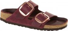 Birkenstock Pantolette Arizona big buckle zinfandel oiled Leather Gr. 35 - 43 1011077