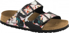 Papillio Pantolette Sandale Arizona BF painted bloom black Gr. 35 - 43 1000620
