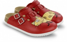 BIRKENSTOCK Professional Clog Kay cat red SUPERLAUF Gr. 35 - 42 582516
